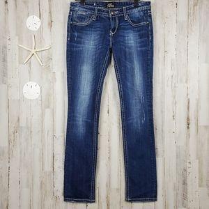 Rerock by Express Skinny Jeans Blue Size 6
